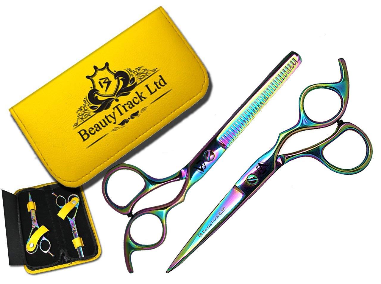 Profesional tijeras de peluquería Peluquería corte de pelo tijeras de peluquería adelgazamiento 5.5 BeautyTrack