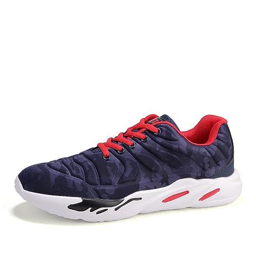 MAXTOP Hombre Mujer Zapatos para Correr Zapatillas de Running Transpirables Casual Zapatos de Fondo Suave IA Comodidad Transpirables de Antideslizantes: ...