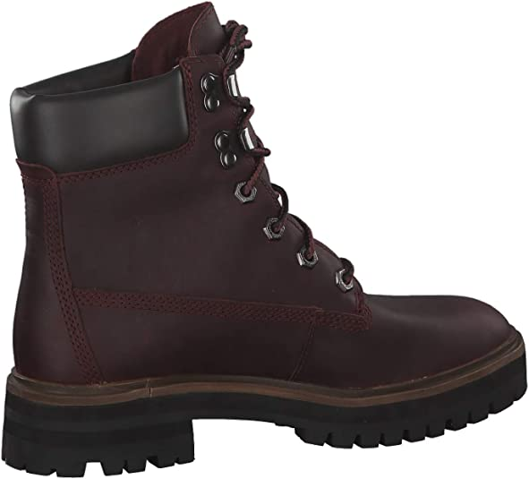 intersección Miserable Tierra  Amazon.com | Timberland Womens London Square 6 Inch Fashion Winter Walking  Boots - Dark Port - 7 | Ankle & Bootie