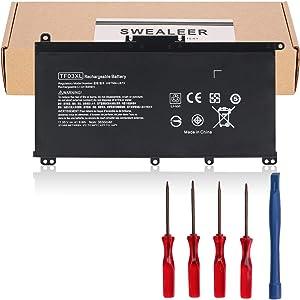 SWEALEER TF03XL Laptop Battery Compatible with HP Pavilion 15-CC 15-CD 15-cc154cl 15-cc060wm 15-cc152od 15-cc055od 15-cd040wm 17-AR007CA 17-AR050WM 920046-121 421 541 920070-855 HSTNN-IB7Y [TF03XL]