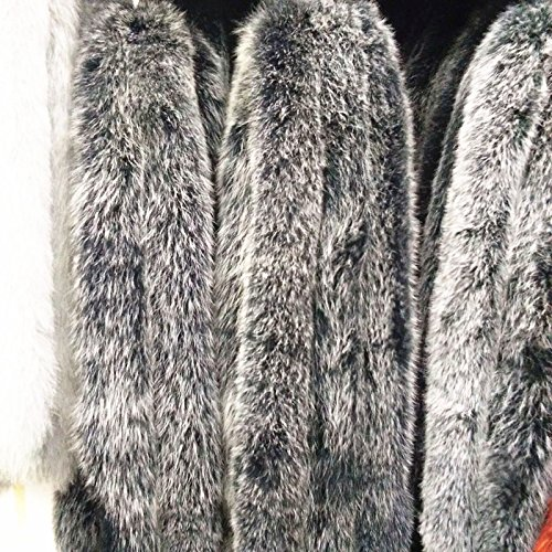 For Winter Yards Long Hair Long Over Coat Clothing Knee White Big Loose Female Thick Duck Dark Xuanku The Down Jacket gray The Down fEqnSqa8w