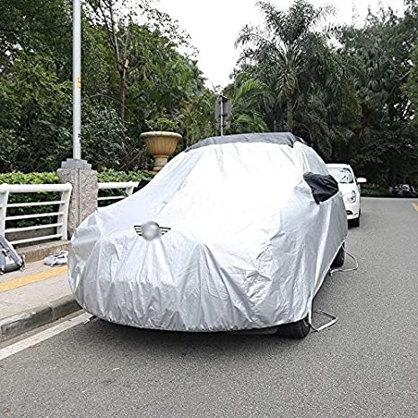 Car Cover Compatible with Mini Cooper Mini R56 Clubman R55 Countryman R60 PACEMAN R61 Mini F56 F55 F54 F60 Sun Protection Rainproof Thickening Winter Snow Protection Car Covers Size : F54
