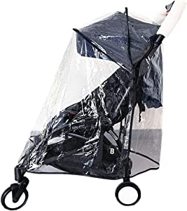 Ezkindheit Baby Stroller Cover for Baby Protection Outdoor,Weather Shield, Clear, Universal Size