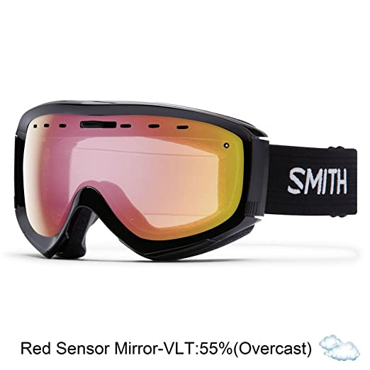 a5ffc71d007 Amazon.com  Smith Optics Adult Prophecy OTG Snow Goggles Black  Frame ChromaPop Everyday Green Mirror  Sports   Outdoors