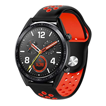 Kokymaker Silicona Correas para Smartwatch Huawei Watch GT ...