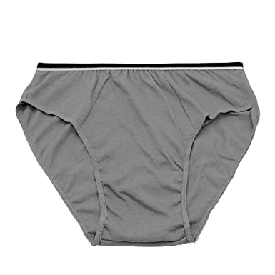 6e19114317e0 Starly Mens Cotton Disposable Underwear Panties Handy Briefs for Travel  Fitness Grey(10pk): Amazon.co.uk: Clothing