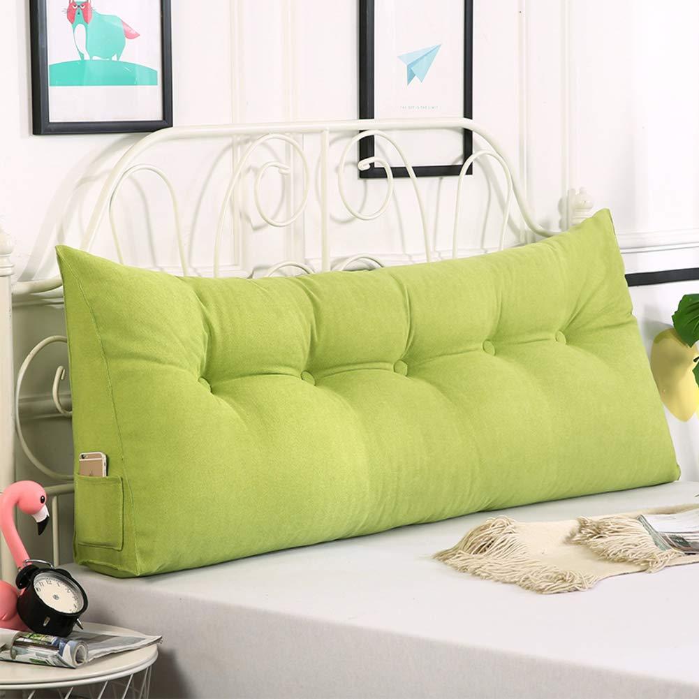 注目 Pp コットン 三角ウェッジ枕,単色 ダブル 読書枕,畳 隠しジッパー デザイン リムーバブル ソファやベッドの-グリーン 180x20x50cm(71x8x20inch) B07LGXFDRR 200x20x50cm(79x8x20inch)|グリーン グリーン 200x20x50cm(79x8x20inch), キレイと元気の専門店 ベータ食品 477be556