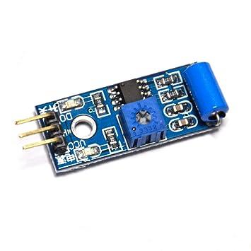 Gikfun SW-420 módulo de Sensor de movimiento para Arduino EK1258