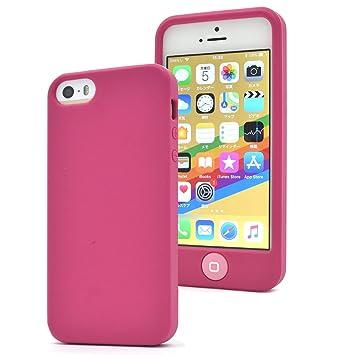 1b88baac25 PLATA iPhone 5 5s SE ケース カバー スイッチ シリコン ソフトケース iPhone5 iPhone5s iPhoneSE 【  ビビッド