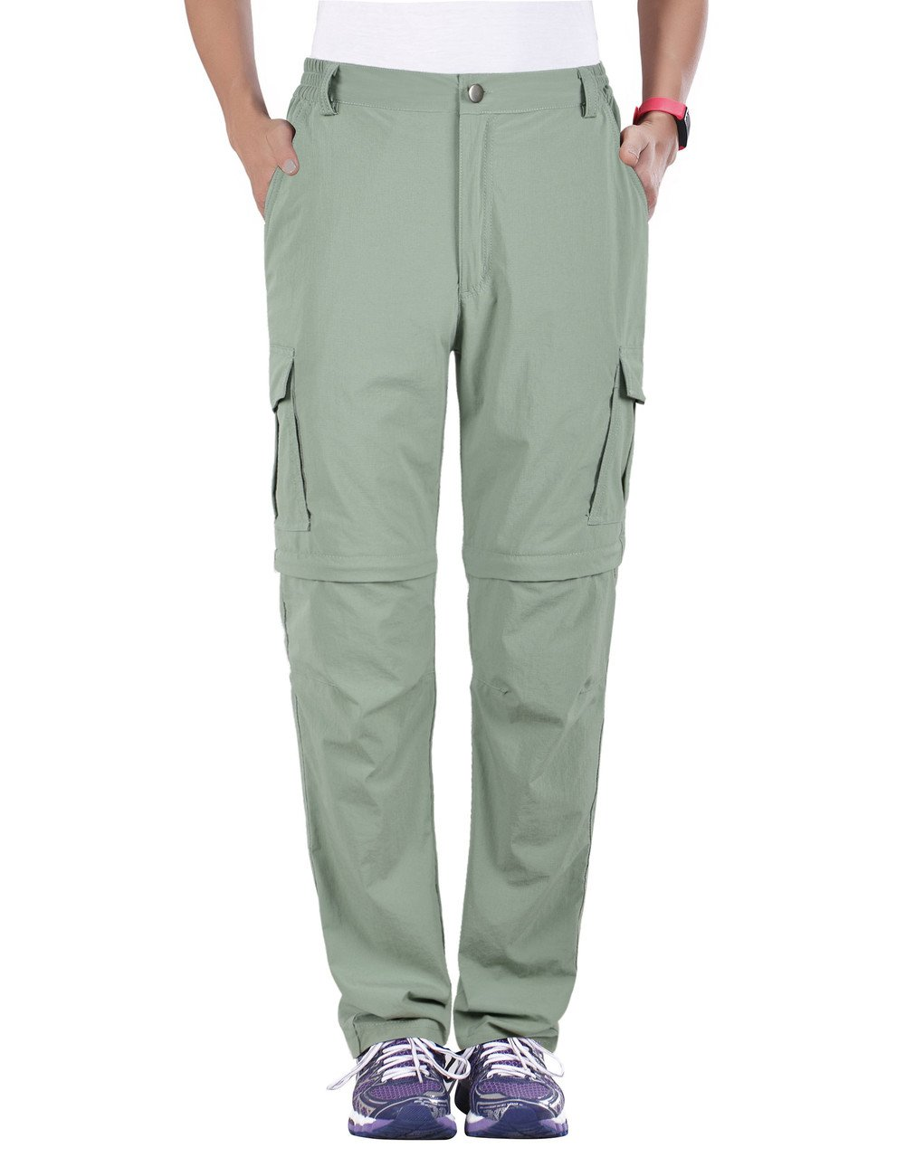 Unitop Women's Quick Dry Convertible Pants Light