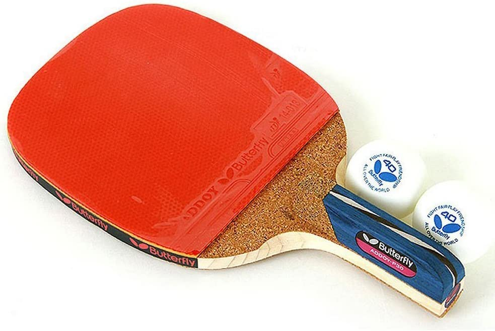 Butterfly Addoy P30 tenis de mesa raqueta portapluma paleta Ping Pong