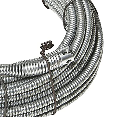 "Spartan Tool 13/32"" x 75' Inner Core SparShine No. 8 Drain Snake Cleaning Cable 3448805"