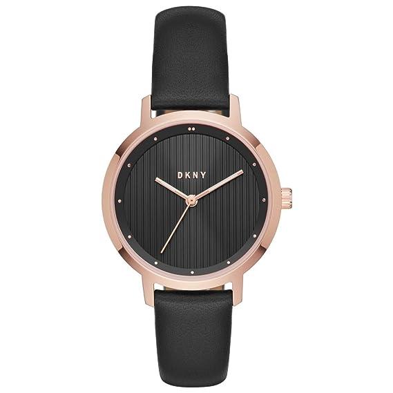 DKNY Reloj Analogico para Mujer de Cuarzo con Correa en Cuero NY2641