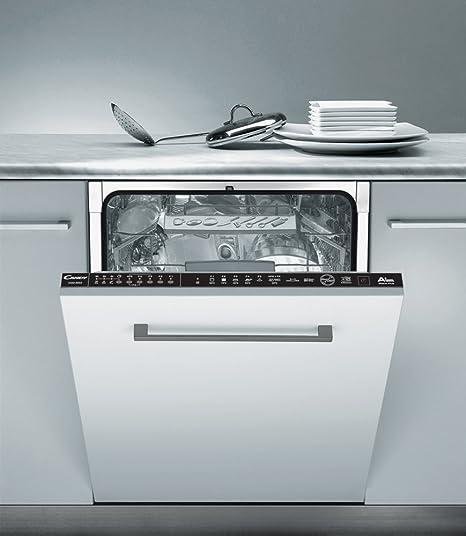 Candy CDIM 5146 Totalmente integrado 16cubiertos A++ lavavajilla - Lavavajillas (Totalmente integrado, Tamaño completo (60 cm), Negro, Botones, ...