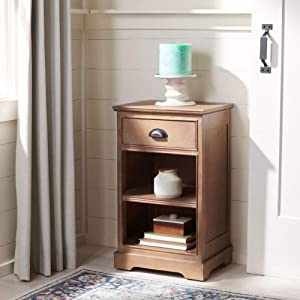 Safavieh American Homes Collection Griffin Grey Side Table