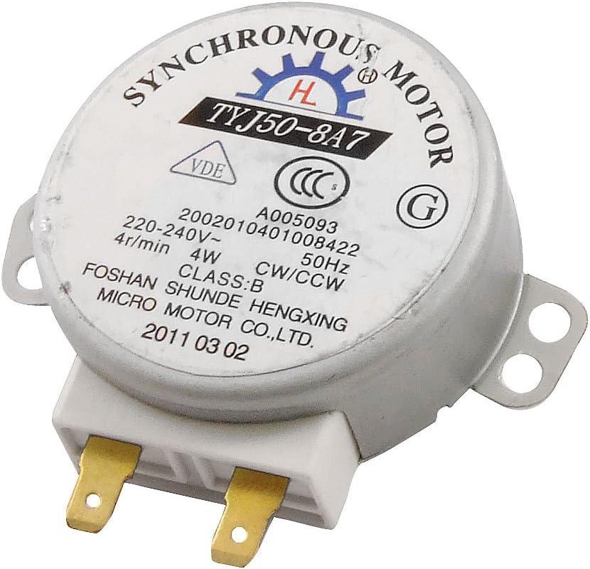 AC 220-240V 4W 4RPM Micro motor síncrono de microonda