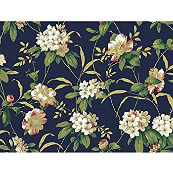 York Wallcoverings French Dressing Kc1845 Antique Floral
