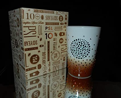 f13f3727691 Image Unavailable. Image not available for. Color: 2013 Starbucks Swarovski Pumpkin  Spice Latte PSL 10th Anniversary ...