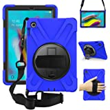 ZenRich Galaxy Tab S5e Case 2019, zenrich SM-T720/T725/T727 Heavy Duty Shockproof Rugged Case with Rotatable Stand Hand Strap