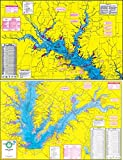 Topographical fishing map of toledo bend for Toledo bend fishing map