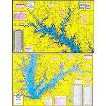 Lake fork map for Lake fork fishing hot spots