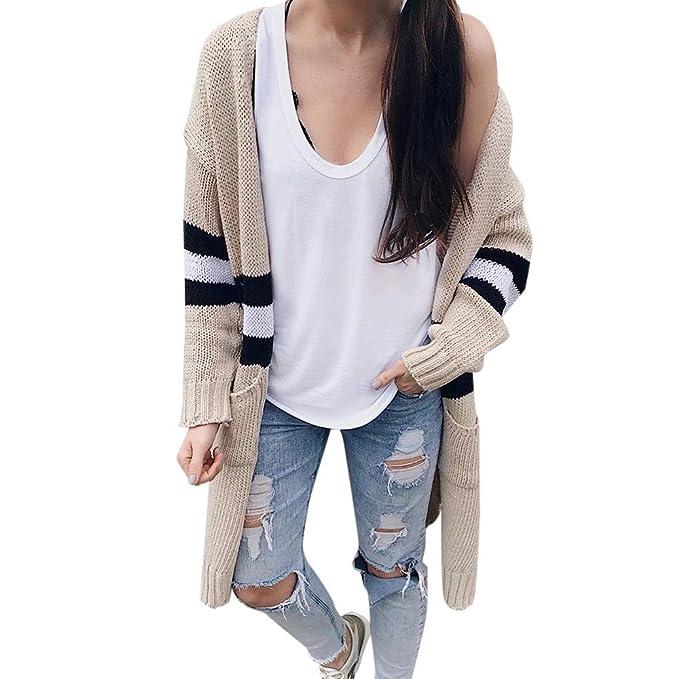 YIHANK 2019 suéter casual de manga larga para mujer, chaqueta de ...