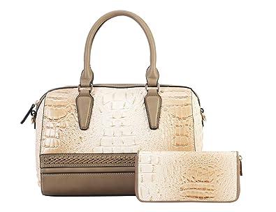 Womens Fashion Hangbags and Purses 2pcs Sets Women s Satchel Tote Work Bags  Designer Waterproof Messenger Shoulder 285e0c0748d60