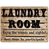 Laundry Room Funny Metal Sign Great Gift Vintage Style Wall Plaque 484