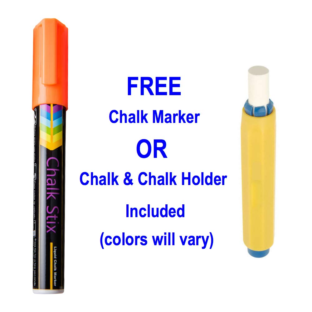 Use Chalk Markers or Regular Chalk 12 x 12 Made in The USA Set of First and Last Day of School Chalkboards for Girls and Boys Erasable Reusable