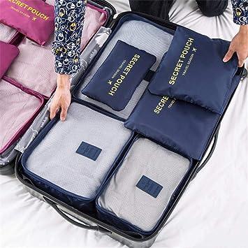 6 UNIDS Juego de Bolsas de Almacenamiento de Viaje Para La ...