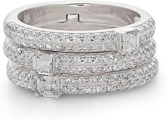 ALL SIZES AVAILABLE Sterling Silver 925 Fancy Band Ring