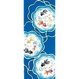 kenema 和雑貨 注染手ぬぐい 『夏の風物詩』 金魚鉢 36×90cm
