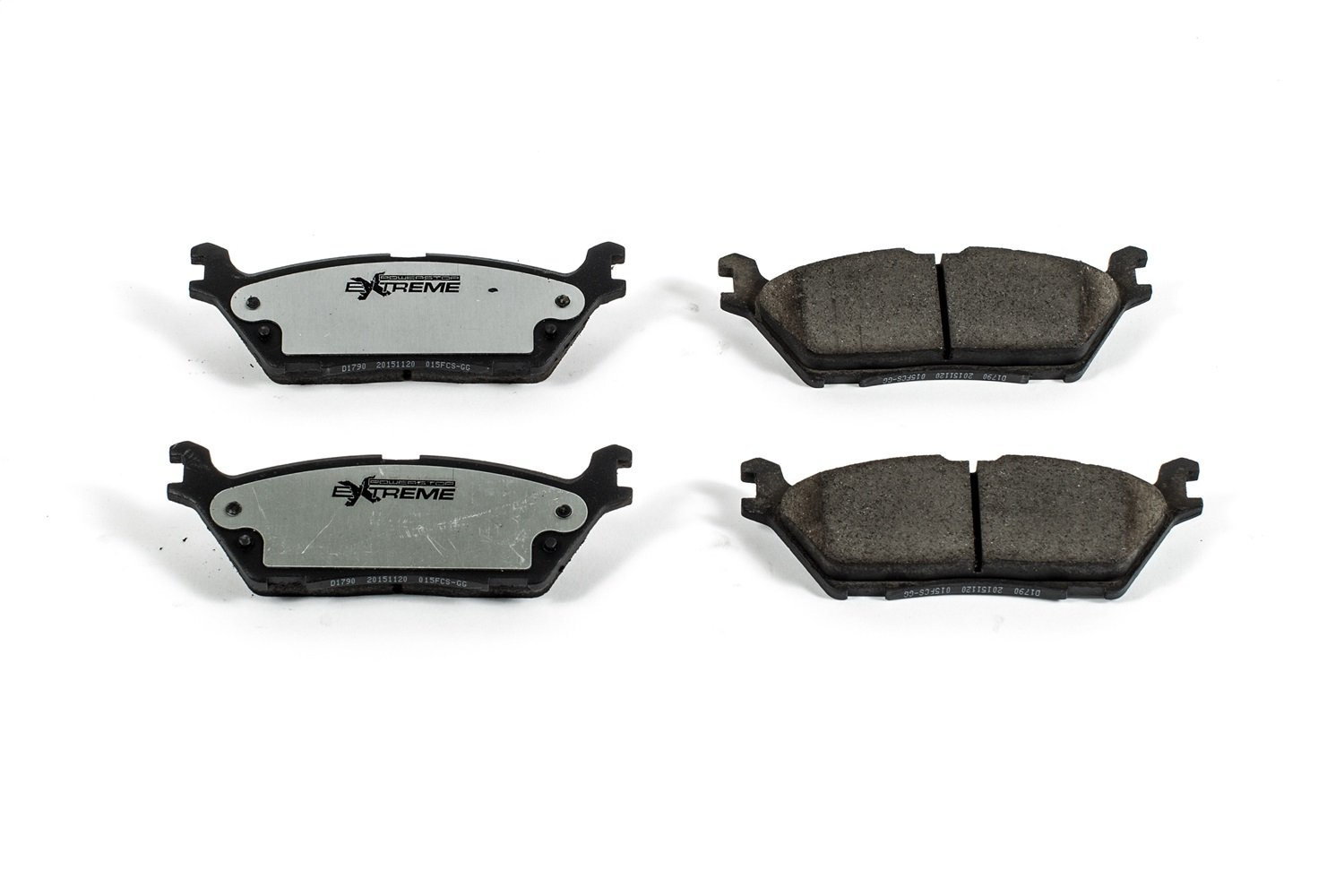 Power Stop Z36-1790 Front Z36 Truck and Tow Brake Pads
