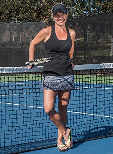 Fandalz Kvinna Flip Flop Sandal Med Riktiga Tennisboll Band (stor Gåva För Tennisspelare / Lag) Svart