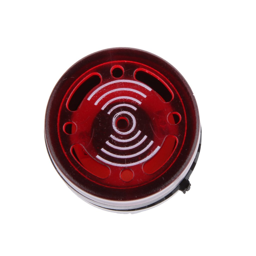 24V 22mm Montaje En Orificio FLAMEER 4 Paquetes De LED De Luz De Se/ñal del Zumbador De Alarma DC//AC 12V