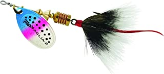 product image for Mepps Aglia Dressed Treble Fishing Lure, 1/6-Ounce, Rainbow Trout/Grey Tail