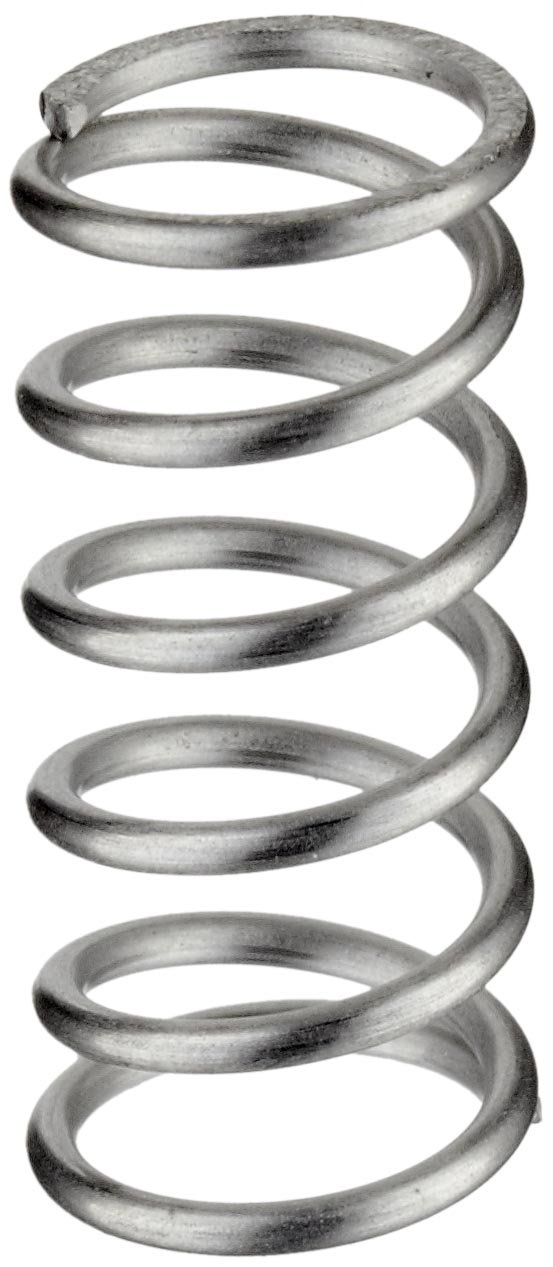 Pack of 10 31.2 lbs//in Spring Rate Compression Spring 0.44 Free Length Inch 0.36 OD 0.289 Compressed Length 0.038 Wire Size 4.7 lbs Load Capacity 316 Stainless Steel