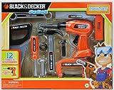 Black & Decker Junior 12 Piece Toy Tool Set with Working Drill