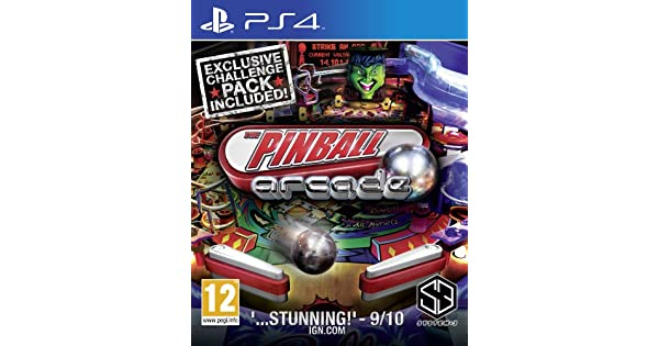 The Pinball Arcade (Exclusive Chalenge Pack Included): Amazon.es: Videojuegos