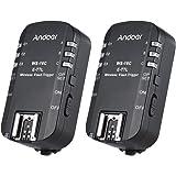 Andoer WS-16C E-TTL Wireless Flash Trigger Transceiver 1/8000s for Canon 5D Mark III, 1Ds Mark III, 60D 50D 650D 600D 550D 500D 450D 1100D 600EX(RT) 580EXII for YongNuo YN568EX YN565C YN468(II) etc
