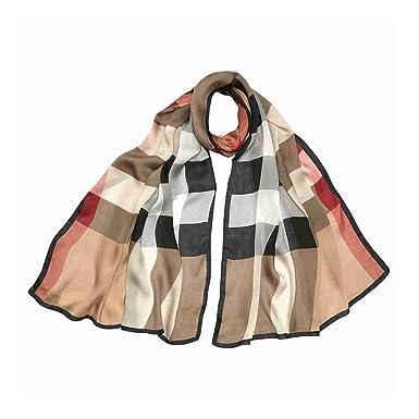 Echarpe Ultra Washed Mega Satin 190x70cm  Amazon.fr  Vêtements et ... 79b9f728c05
