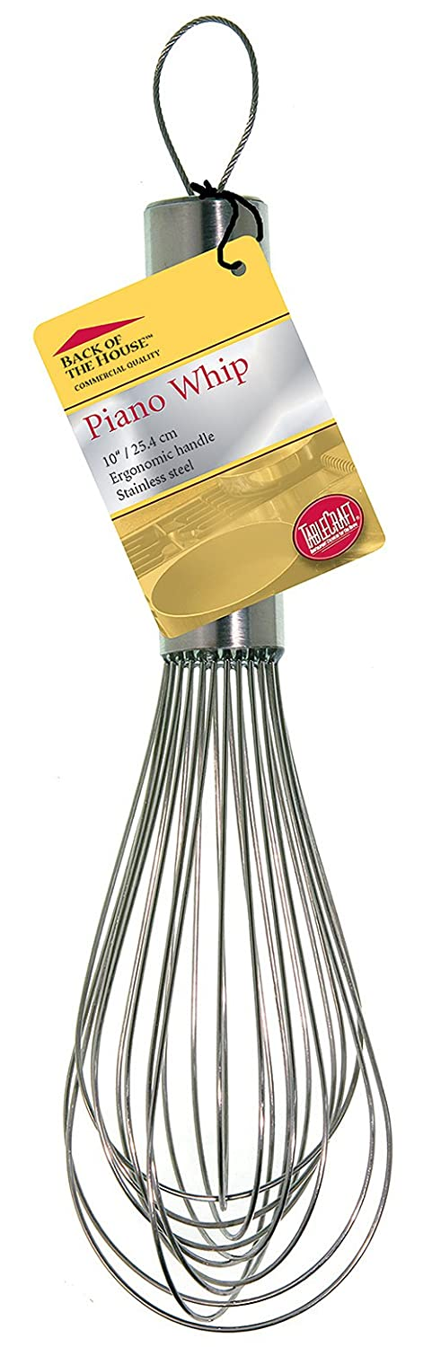 Stainless Steel 10 10 Tablecraft HEPW10BH Piano Whip