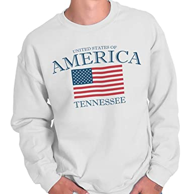 Tennessee State Ideas American Usa T Shirt Flag Sweatshirt At Amazon