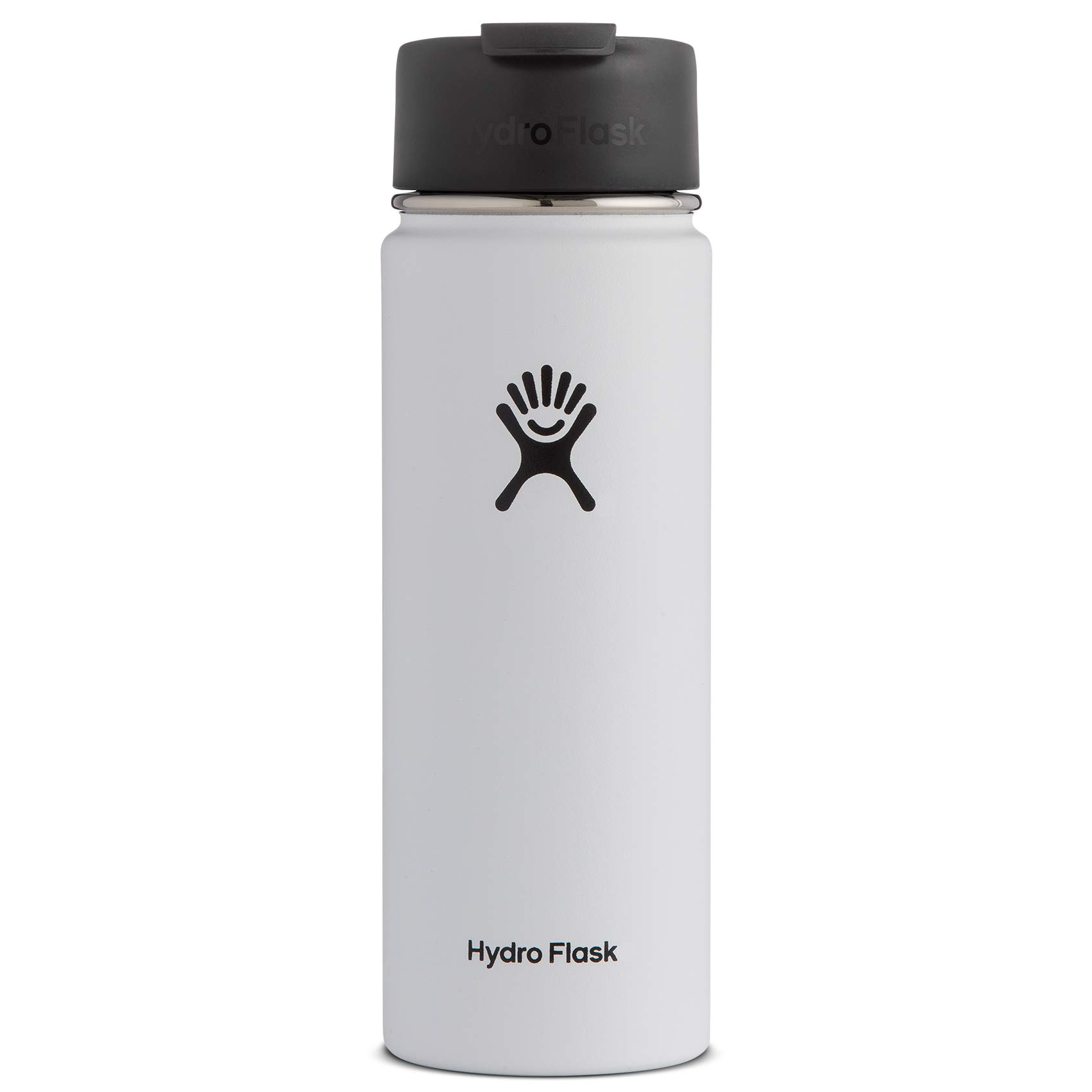 Hydro Flask Travel Coffee Flask, 20 oz, White by Hydro Flask