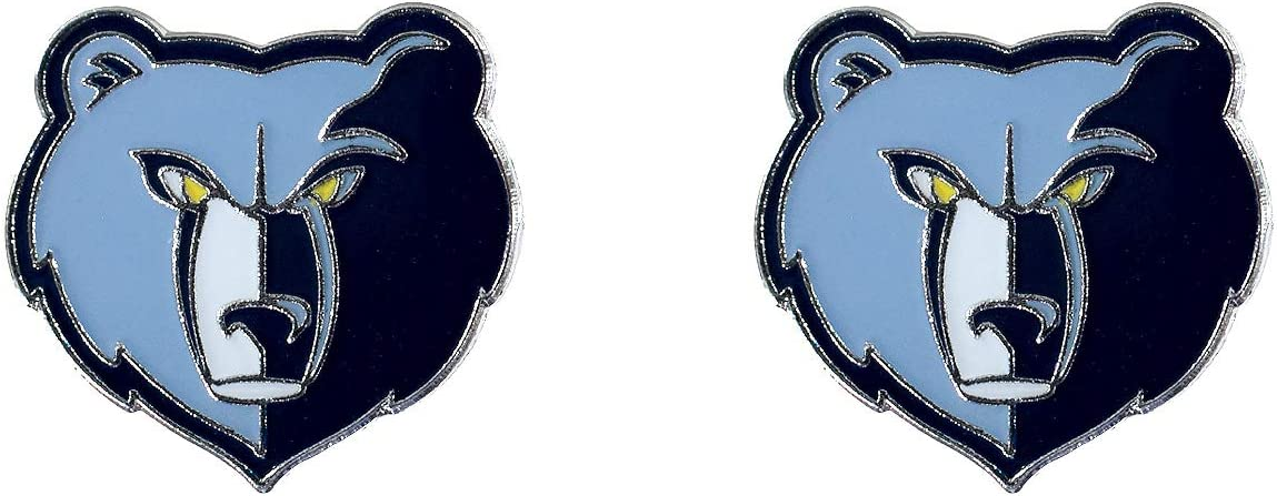 NBA Memphis Grizzlies Logo Post Earrings