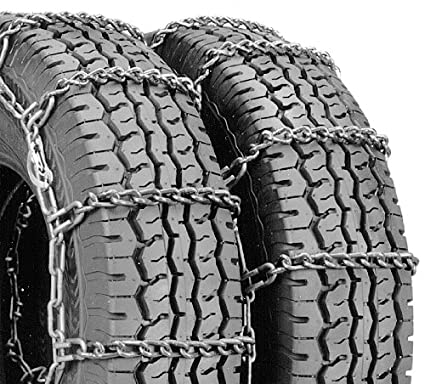 Security Chain Company QG3210 Quik Grip Wide Base DH Light Truck Tire Traction Chain Set of 2