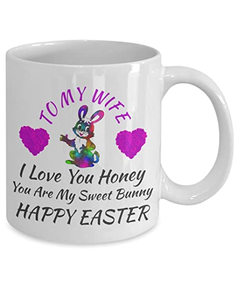 Amazon easter birthday surprise wedding anniversary engagement amazon easter birthday surprise wedding anniversary engagement gifts for wife women her love my wife color changing magic coffee mug gift for negle Choice Image