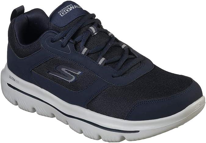 Skechers Go Walk Evolution Ultra-enhan, Zapatillas para Hombre ...