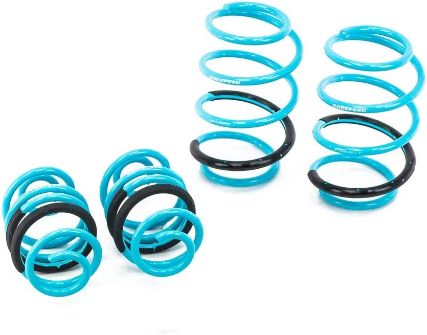 2013+UP B17 fits Sentra Set of 4 Compatible With//Replacement For Brightt GSP-SZZ-899 Traction-S Performance Lowering Springs