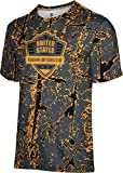 ProSphere Boys' Washington Army National Guard Military Distressed Tech Tee
